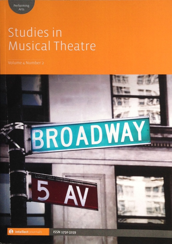 Image result for studies in musical theatre